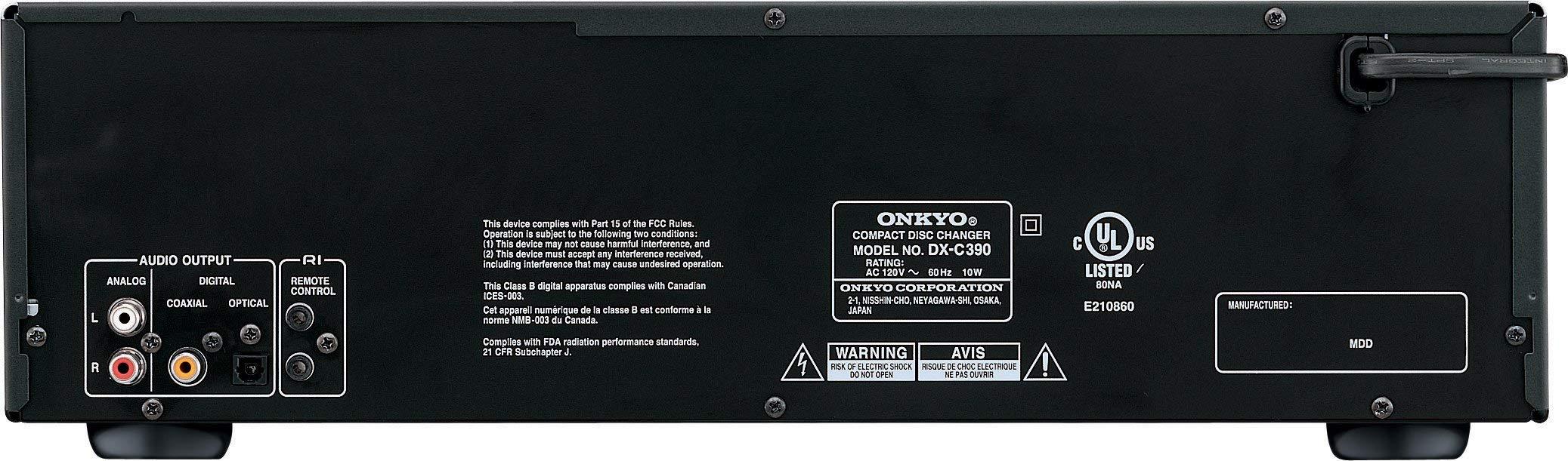 Onkyo DXC390 6 Disc CD Changer (Renewed) by Onkyo (Image #2)