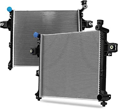 Aluminum radiator for JEEP GRAND CHEROKEE /& Commander 2006-2010 3.7 4.7 6.1