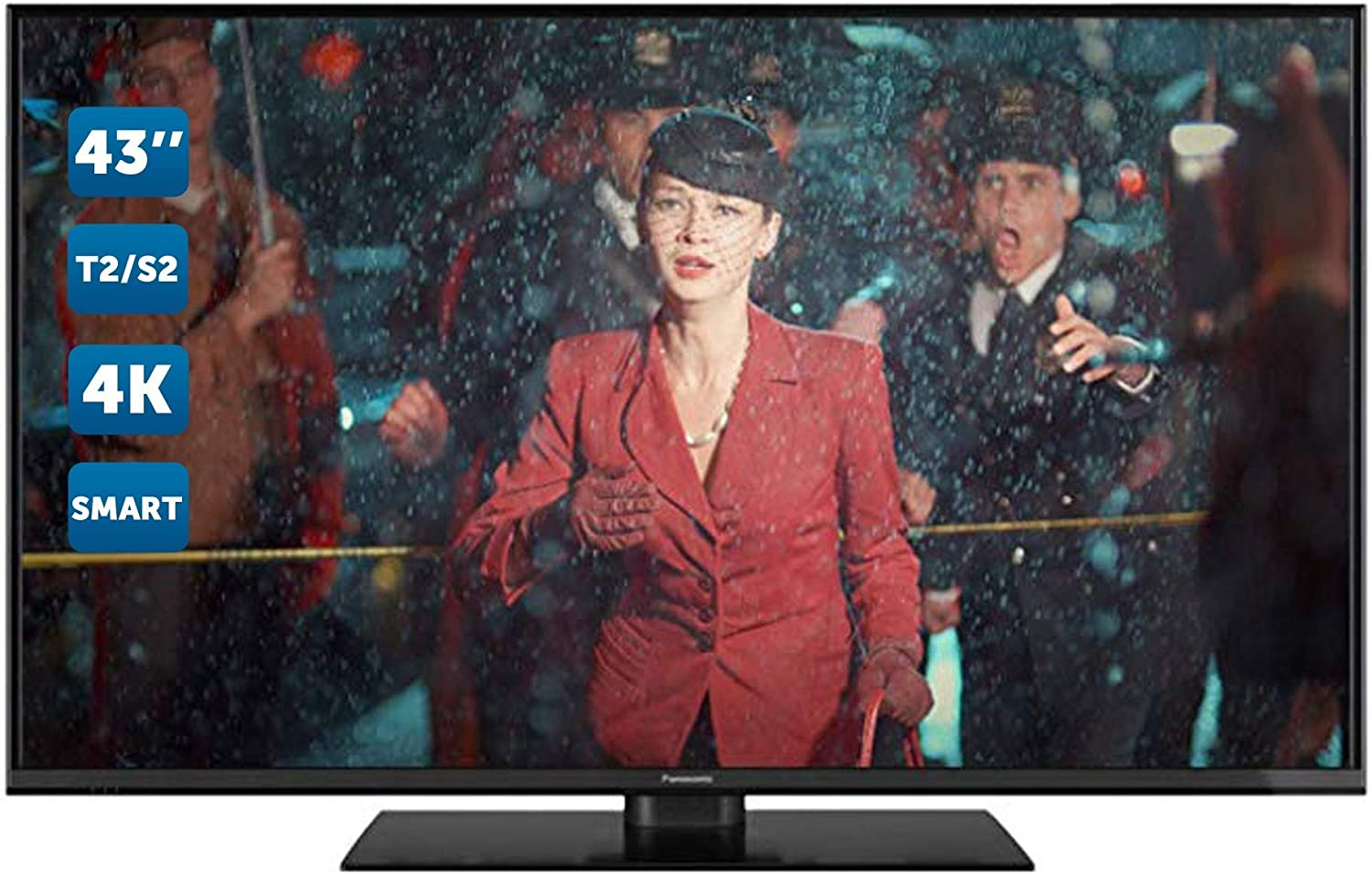 Televisore LCD Panasonic TV LED 4K Ultra HD da 43