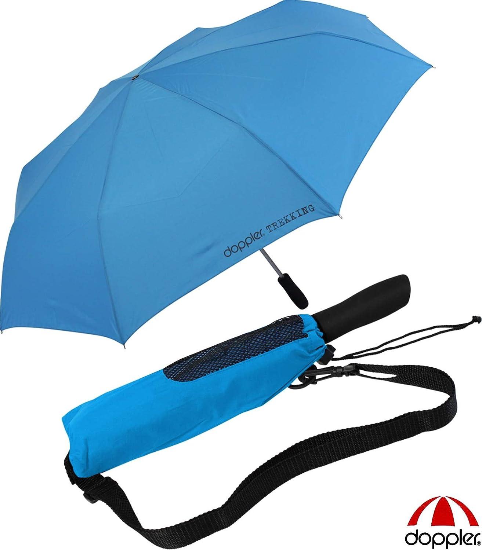 Doppler - Paraguas de bolsillo para golf y senderismo, talla XXL, azul: Amazon.es: Ropa y accesorios