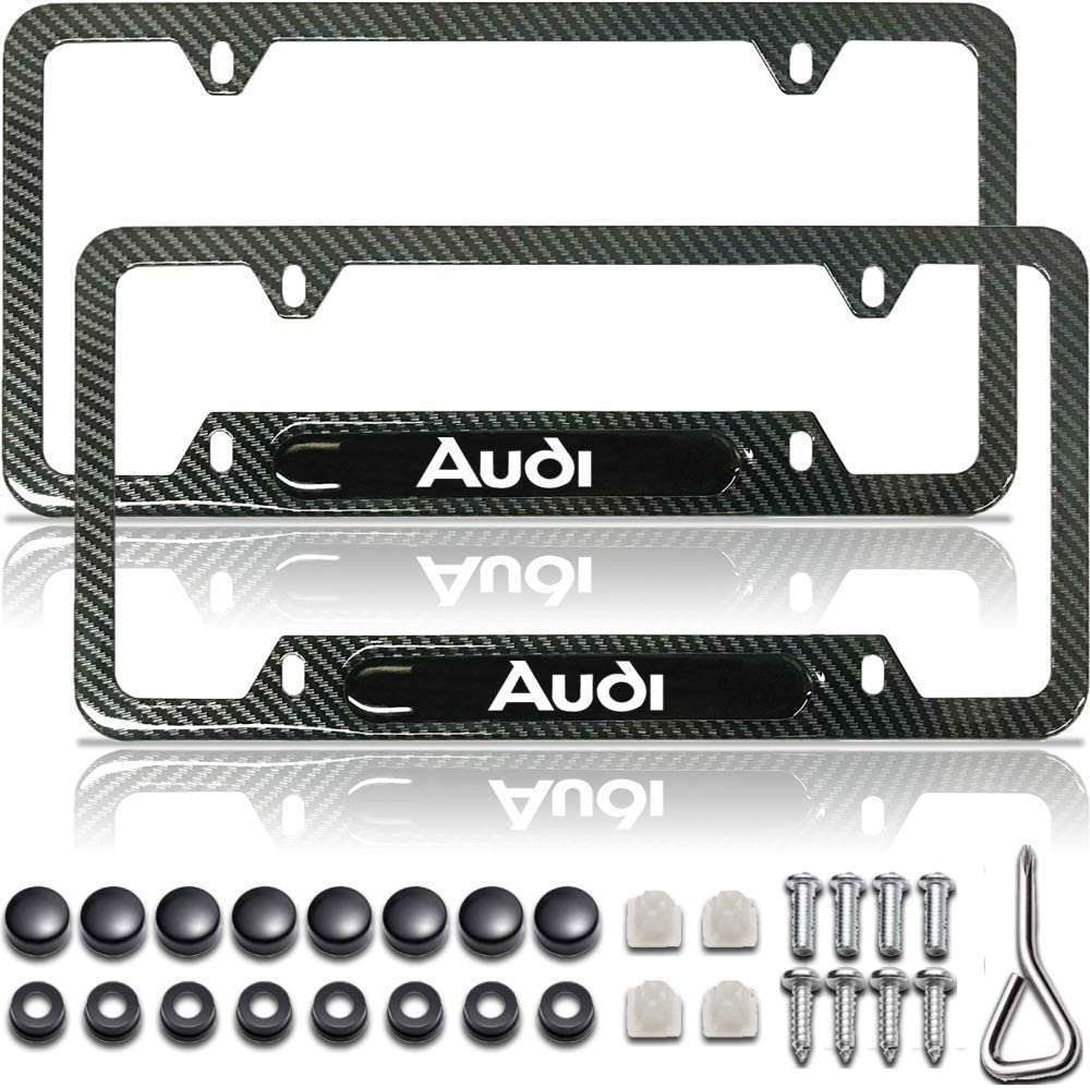 Black License Plate Frame Carbon Fiber License Plate Frame License Plate Frame Black License Plate Frame Carbon Fiber Gloss Black License Plate Frame,Audi Accessories Audi License Plate Frame