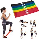 ZELUS Resistance Bands Exercise Loops for Daily Workout, Pilates, Yoga, Rehab, Physical Therapy, Set of 5