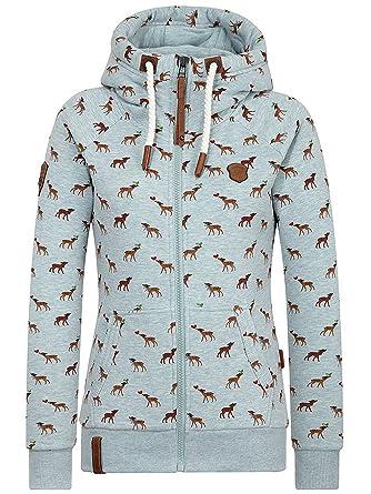 Sweater Hooded Zip Women Naketano Max Der Butler Zip Hoodie