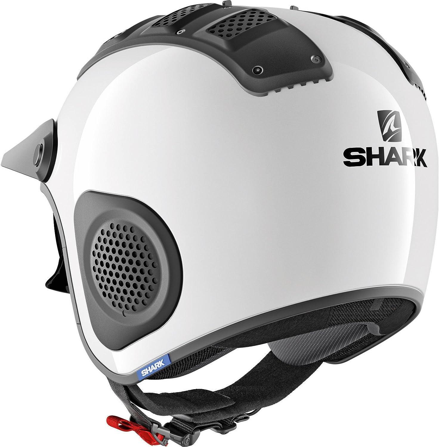 Shark Motorradhelm X-DRAK BLANK WHU Weiss XL