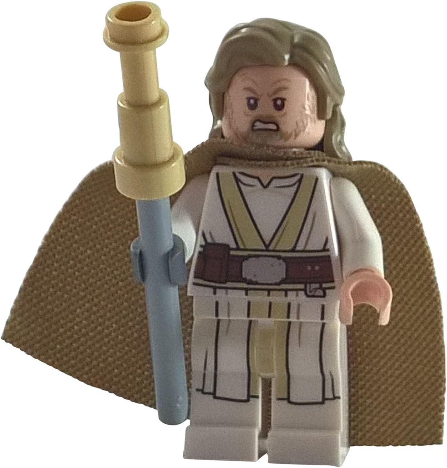 Lego Star Wars Tan Male Hair Luke Skywalker NEW