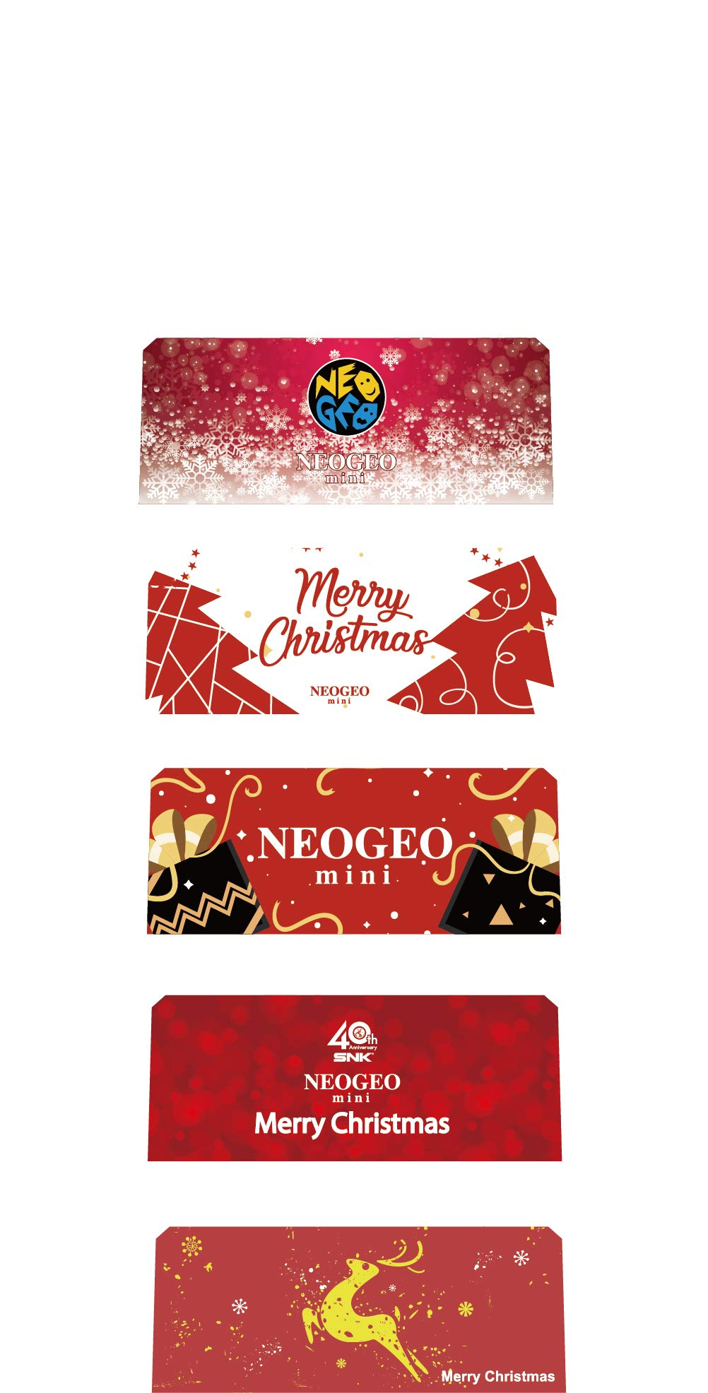 NEOGEO mini Christmas Limited Edition *(IN STOCK NOW! Ships USPS Priority Mail)* by SNK (Image #11)
