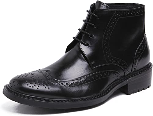 Heritage Wingtip Boots Leather Lace up