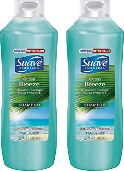 2-Pack Suave Essentials Ocean Breeze Shampoo, 30 fl oz