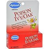 Hyland Poison Ivy Oak, 50 tablets, pack of 6