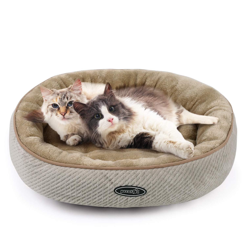 Pecute Cama para Gatos Colchoneta Basic para Perros y Gatos (mediana: 55cm de diámetro