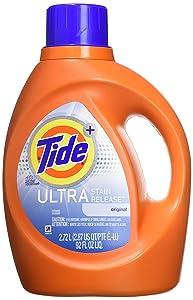 Tide Plus Ultra Stain Release Original Scent Laundry Detergent 92 Fl. Oz (48 Loads)