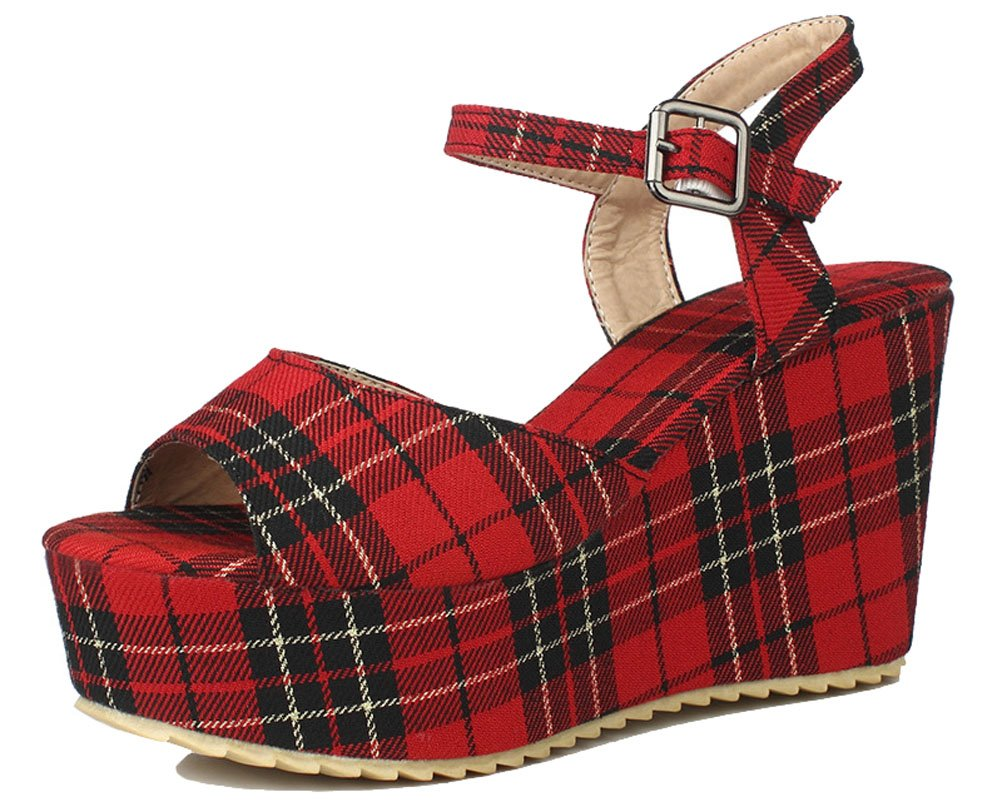 HiTime Mules Mules 8205 Femme Red Red 89ba620 - epictionpvp.space