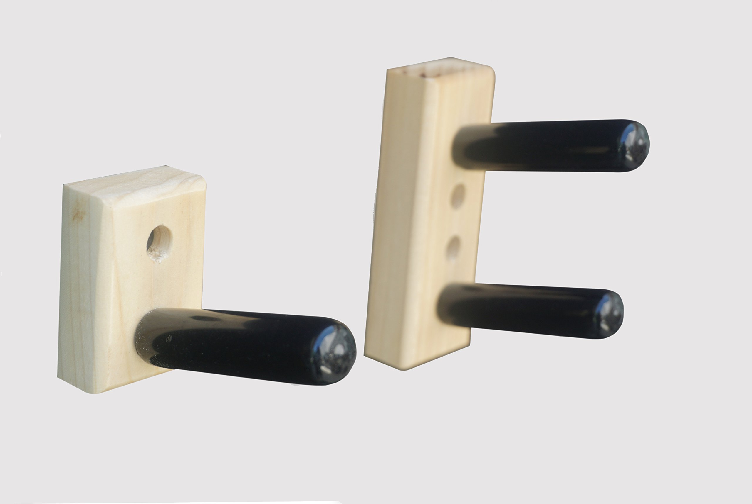 KR Ideas Standard Horizontal Wall Mount for an American Meiser Rifle (Made in the USA) (Poplar) by KR Ideas