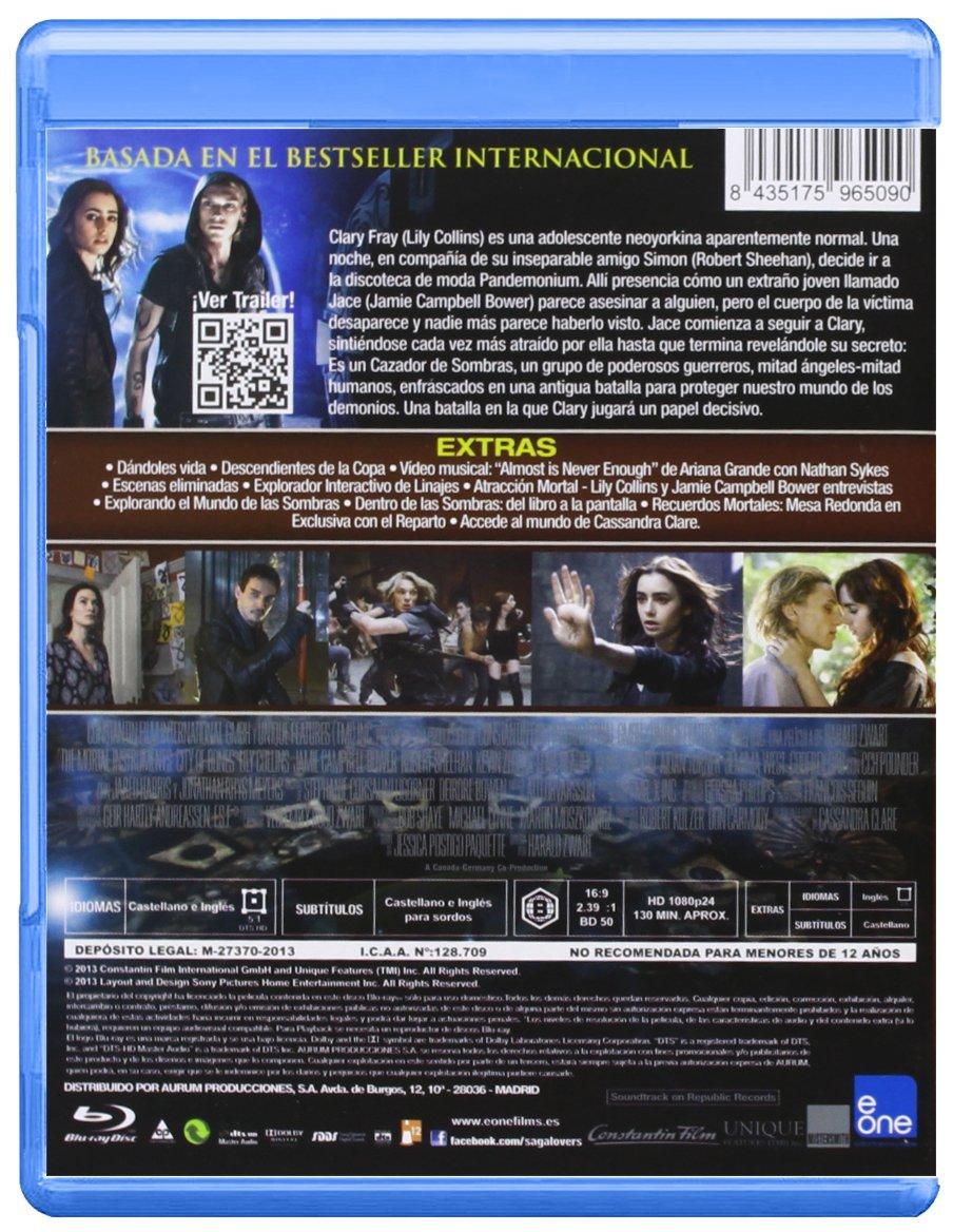 Cazadores De Sombras (Bd) [Blu-ray]: Amazon.es: Lily Collins ...