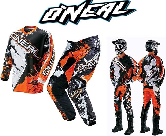 Neu Motorrad Motocross Anzug Oneal Element Shocker Motorrad Off Road Sports Bike Kit Mx Quad Scooter Racing Jersey Und Hosen Combo Für Männer Frauen Design Bekleidung