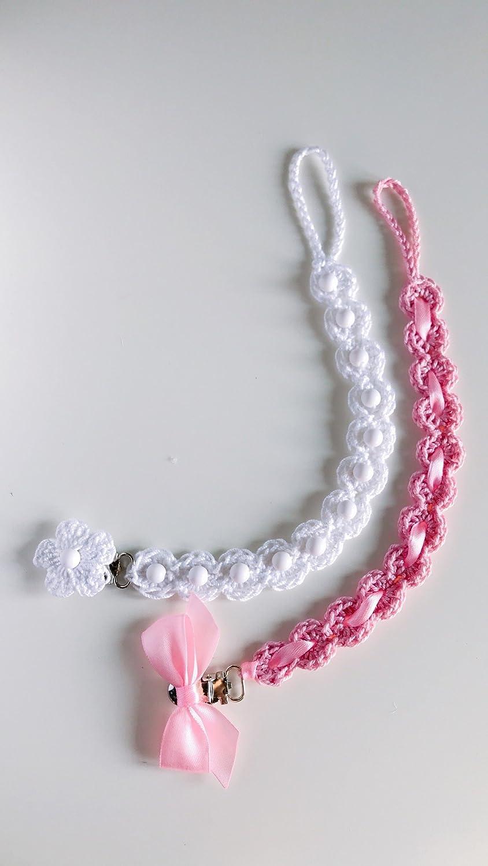 Conjunto de 2 pequeñas cadenas | 2 piezas de ganchillo hechas a mano ...
