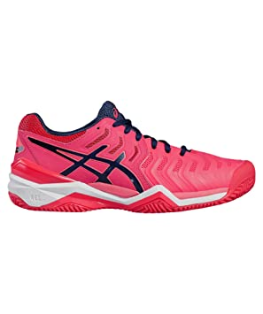 ASICS GEL RESOLUTION 7 CLAY ROSA DIVA E752Y 2049: Amazon.es: Deportes y aire libre