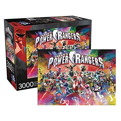 Aquarius Power Rangers Jigsaw Puzzle 3000Piece: Toys & Games