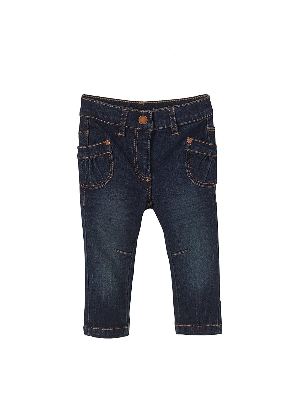 Vertbaudet Baby Girls' Jeans grey Denim gris