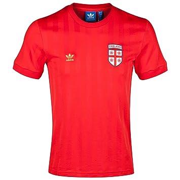 Adidas England Originals té Fan - Camiseta Rojo Campeonato Mundial Artículo Fan Fútbol RU, Extra-Small: Amazon.es: Deportes y aire libre
