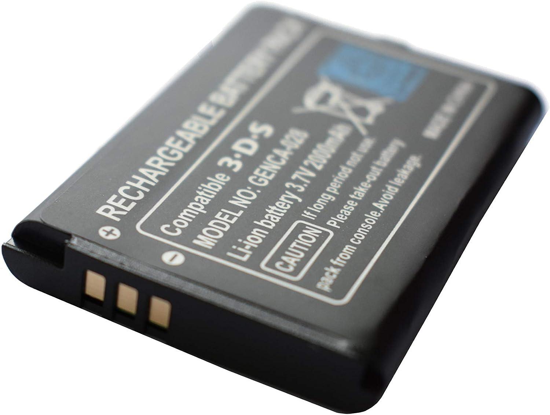 Batería Compatible con el Controlador Nintendo 3DS / 2DS / Wii U ...