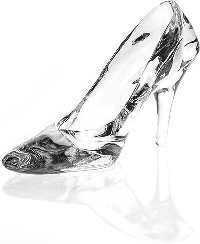 Crystal The Wonderland Cinderella Shoe Figurine Paperweight