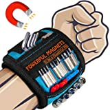 Magnetic Wristband, Upgraded Stronger Magnetic Tool Belt Super Strong Magnets, Best Gifts for Men, Dad, Father, Husband…