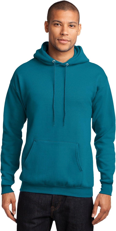 Port /& Company Mens Classic Pullover Hooded Sweatshirt