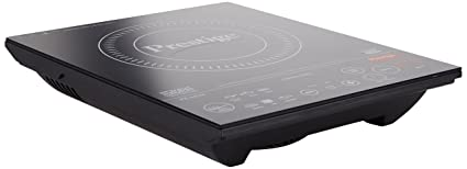 Prestige PIC 6.0 V3 2000-Watt Induction Cooktop with Touch Panel, Black