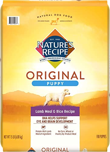 Nature's Recipe Dry Puppy Food Packaging may vary
