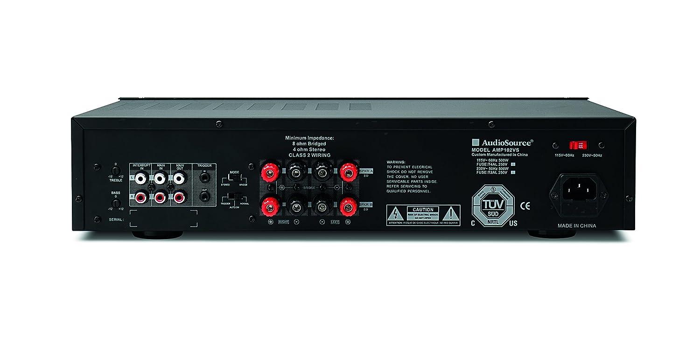 Amazon.com: Audio Source AMP100VS 2 Channel Amplifier (Black): Home Audio &  Theater