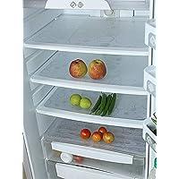Kuber Industries Circle Design 6 Piece PVC Refrigerator Drawer Mat Set