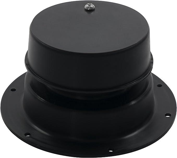 LCI 389380 360 Siphon Black Plumbing Sewer Vent Cap