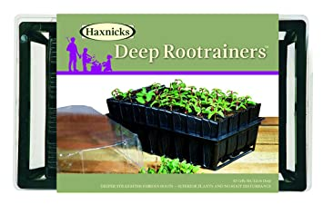 Tierra Garden 50 9000 Haxnicks Deep Rootrainers Seed And Cutting  Propagation Kit