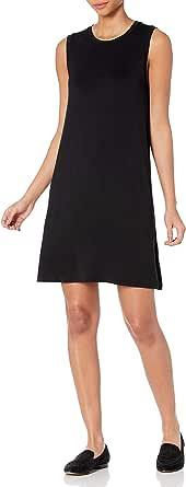 Marca Amazon - Daily Ritual Jersey Muscle Swing Dress Mujer