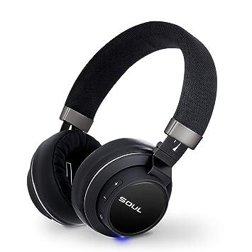 Alma impacto OE firma Sound On-Ear auriculares inalámbricos, Bluetooth auricular con micrófono estéreo