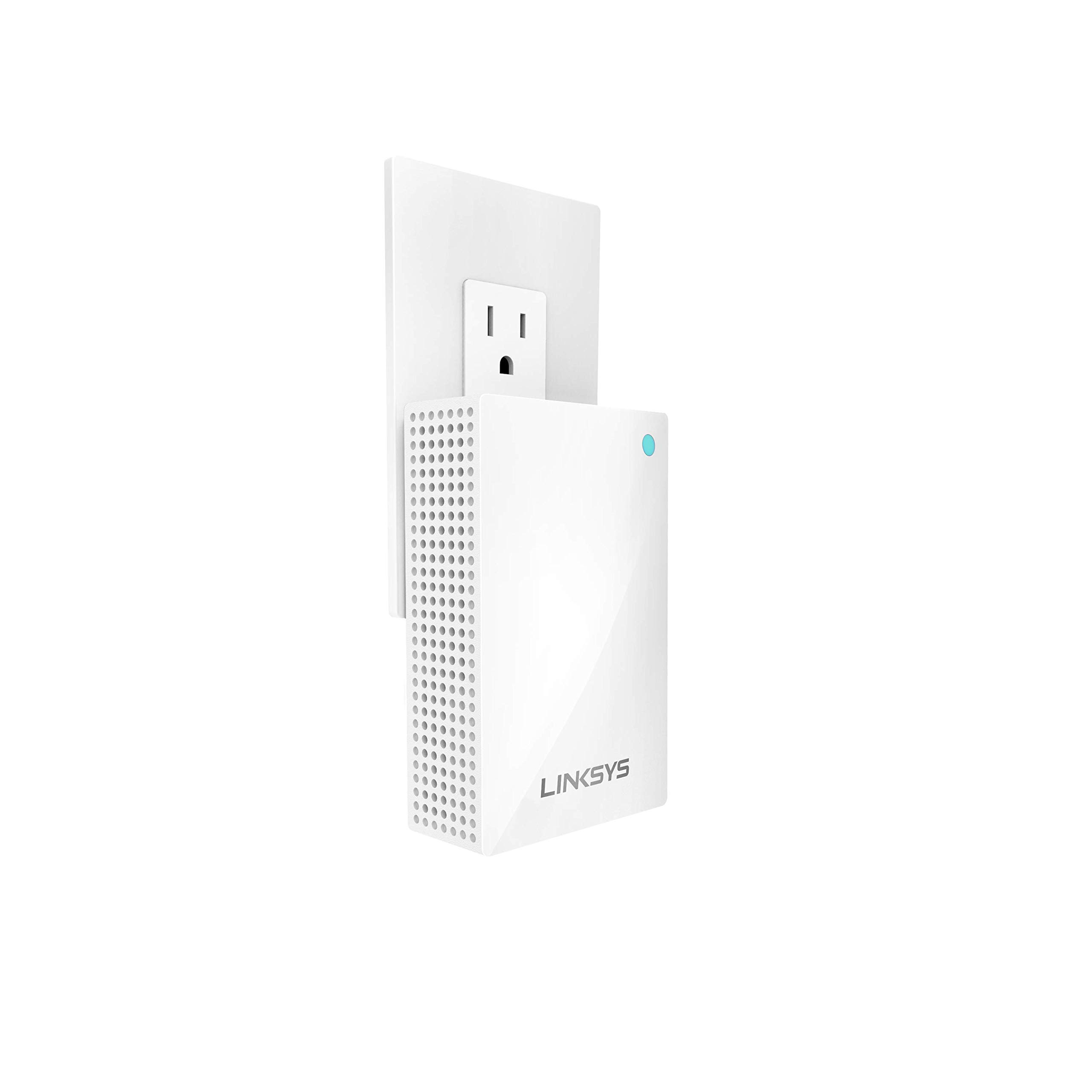 Linksys Velop Whole Home WiFi Intelligent Mesh System Wall Plug-in, Works with Your Velop System to Extend Range & Speed by Linksys