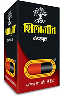 Dabur Shilajit   100 caps   for vigour   health Ayurveda available at Amazon for Rs.400