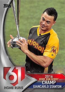 2017 Topps Home Run Derby Champs #HRD-21 Giancarlo Stanton NM-MT Marlins