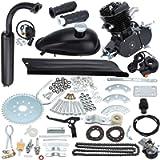 Sange 2 Stroke Pedal Cycle Petrol Gas Motor Conversion Kit Air Cooling Motorized Engine Kit for Motorized Bike (50cc…