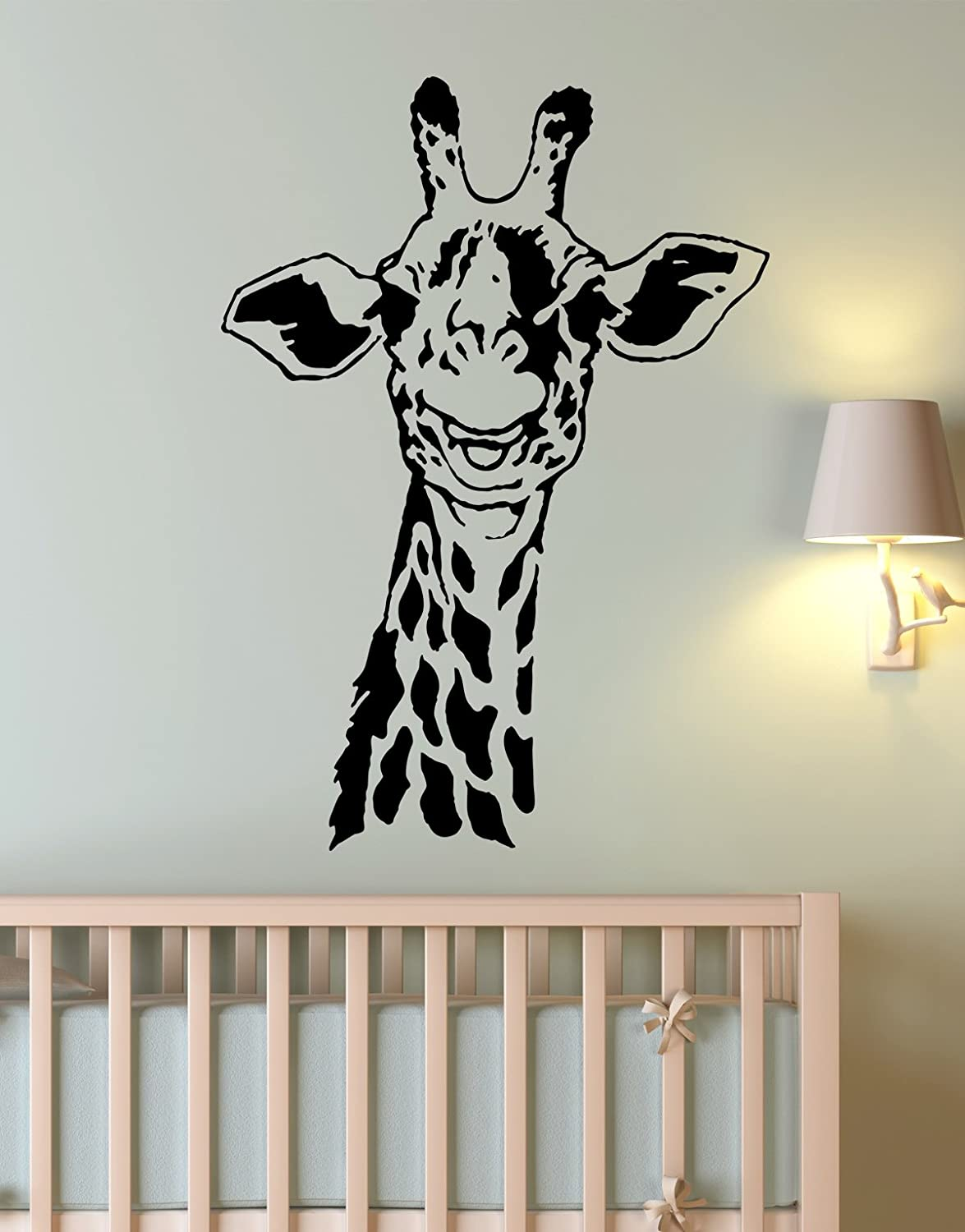 Amazoncom African Safari Giraffe Wall Decal Sticker By - How do you put up vinyl wall decals