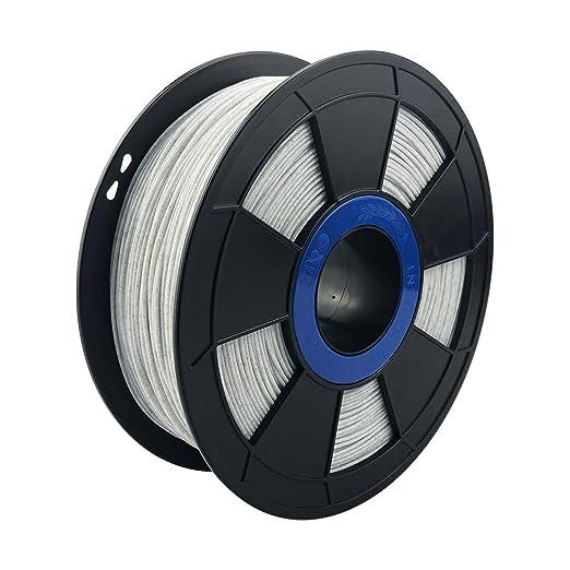 Ziro Filamento PLA para impresora 3D, 1,75 mm, color mármol/blanco, 1 kg: Amazon.es: Amazon.es