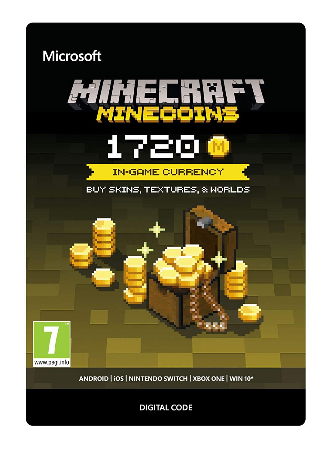 Minecraft: Minecoins Pack: 1720 Coins | For all Platforms