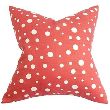 Amazon.com: the pillow collection Bebe lunares almohada ...