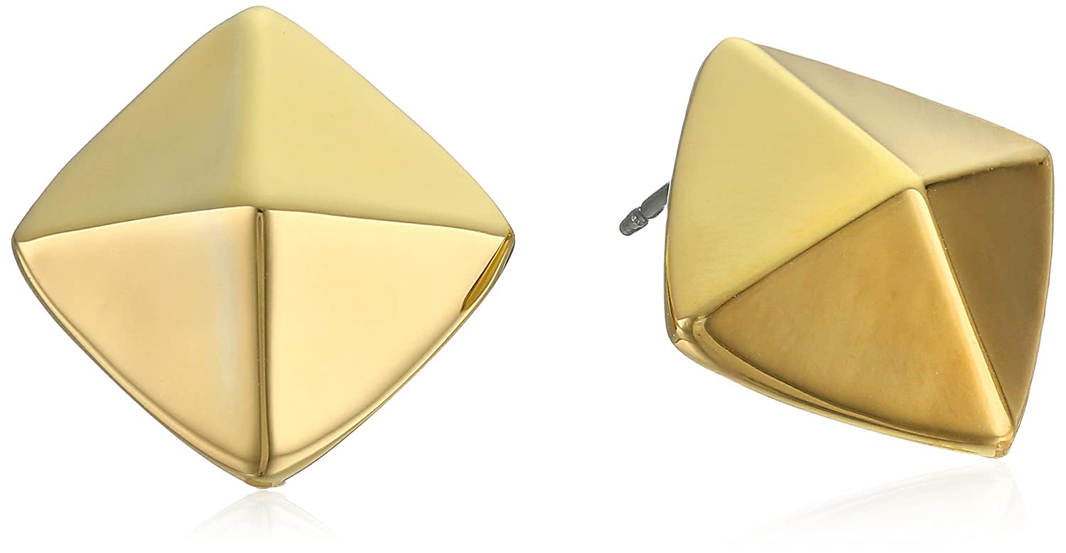 com by stud original notonthehighstreet pyramid gaamaa product earrings