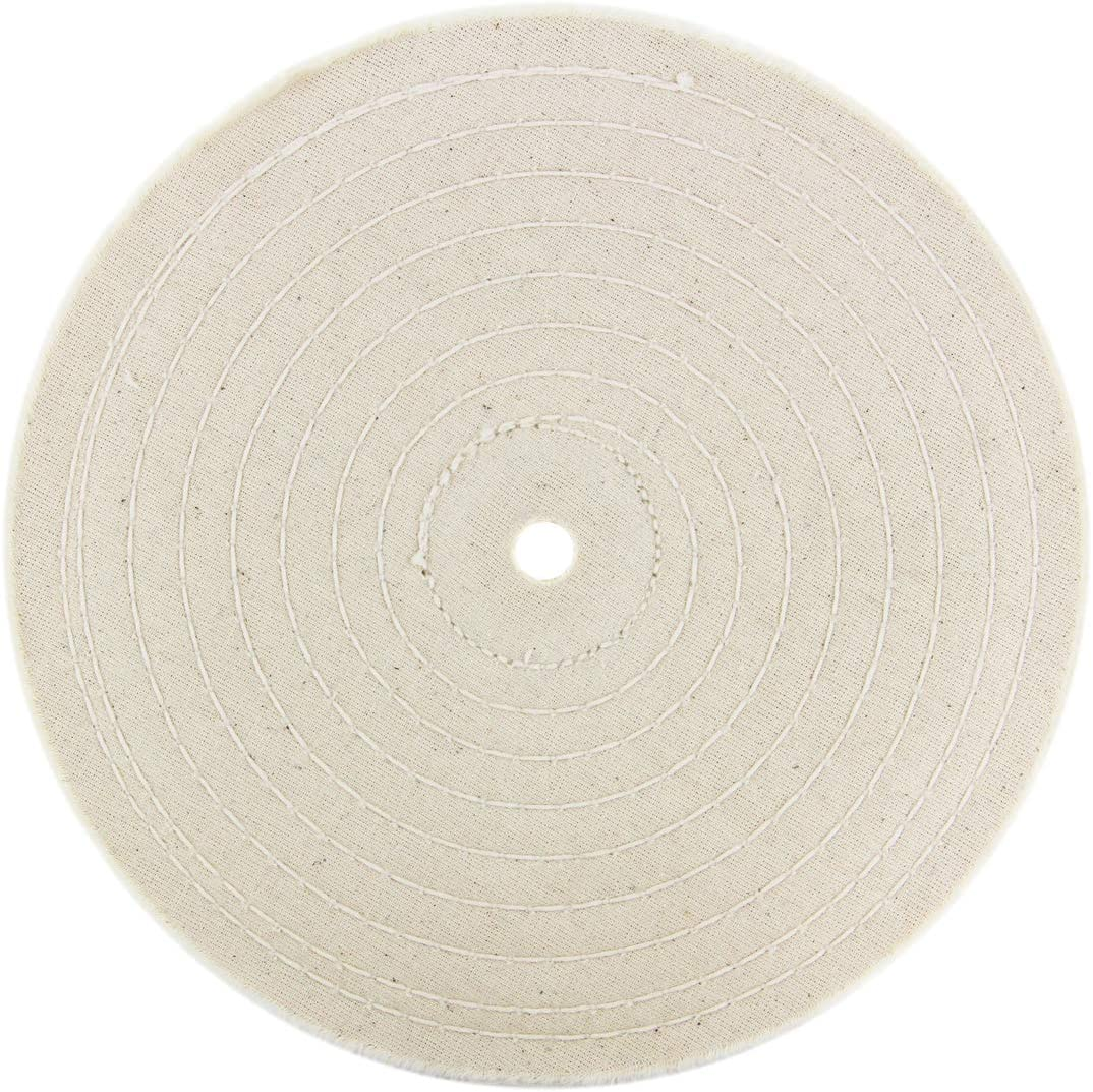 4 1//4 Cotton Buffing Wheel 20Ply fitmax