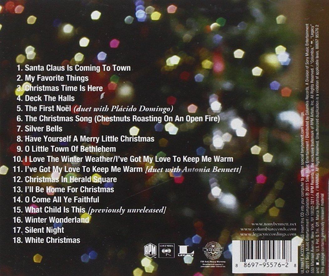 The Classic Christmas Album: Tony Bennett: Amazon.ca: Music