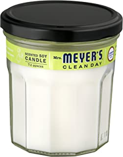 product image for Mrs. Meyers Clean Day Soy Scented Candle, Lemon Verbena 7.2 oz (Pack of 6)