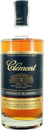 CLEMENT RON SELECT BARREL 40% 100 CL: Amazon.es ...