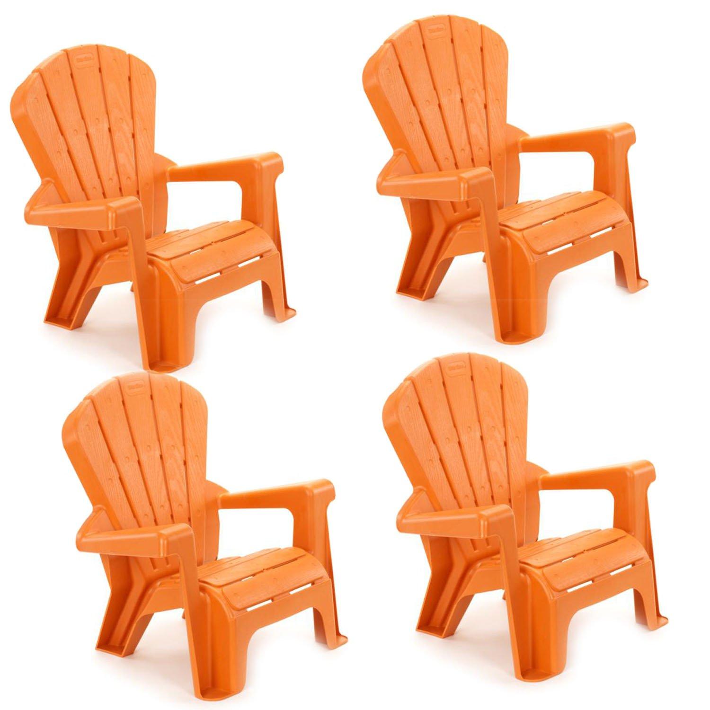 Little Tikes Garden Chair (4 Pack), Orange by Little Tikes